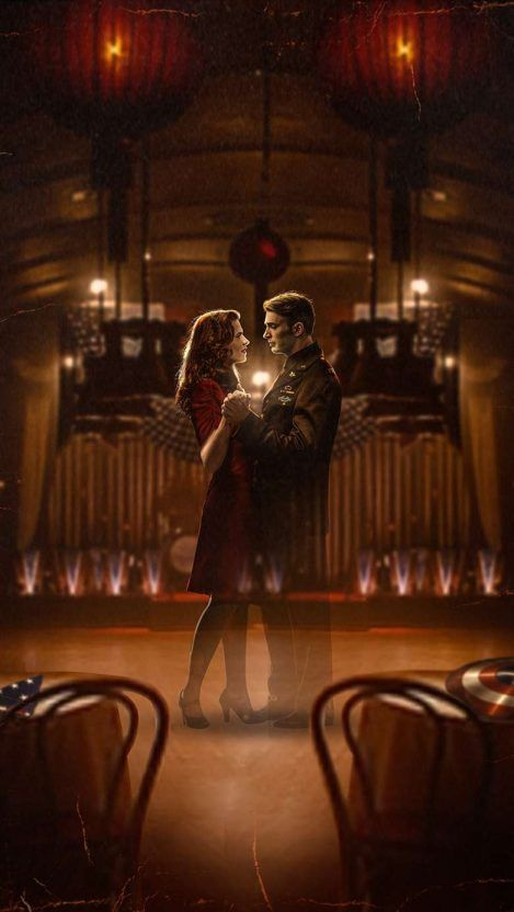 Steve Rogers and Peggy Carter iPhone Wallpaper - iPhone Wallpapers