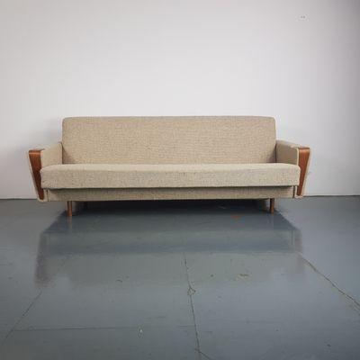 Mid Century Danish Sofa Bed 1