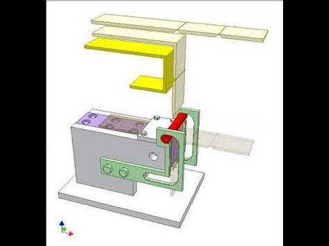Linear Reciprocation With One Way Interrupted 180 Deg Rotation 3 Youtube Conveyor System U Shape White Sliders