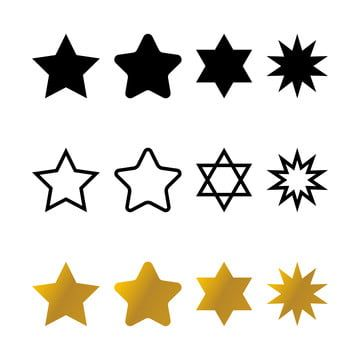 Vector Star Shapes Set Vector Shapes Set Png And Vector With Transparent Background For Free Download In 2021 Star Shape Logo Design Free Templates Vector Shapes