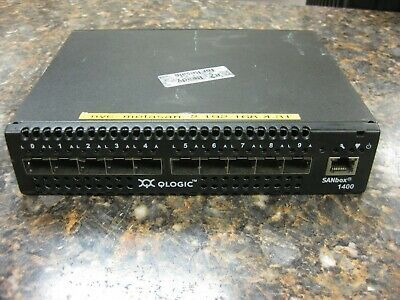 Ebay Link Ad Qlogic Sanbox 1400 10 Port Fiber Channel Networking Switch Sb1404 10aj E Port Networking Switch