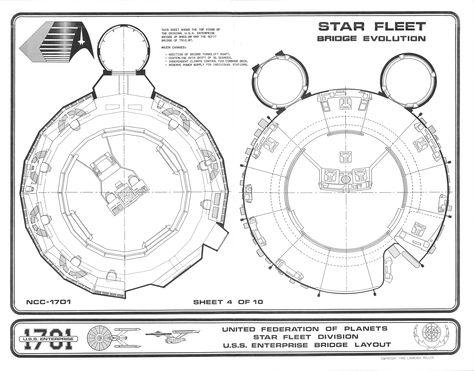 Enterprise Bridge Star Trek Tos