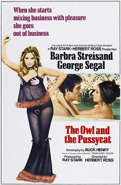 The Owl And The Pussycat - 1970 - Movie Poster Magnet
