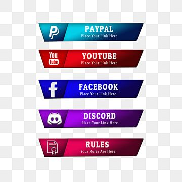 Twitch Overlay Live Streaming Social Media Share Buttons Donation Stream Elements Obs Studio Png Transparent Clipart Image And Psd File For Free Download Social Icons Twitch Overlays