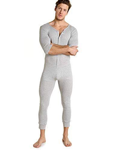 Go Softwear West Coast Vibe Union Suit Heather Grey