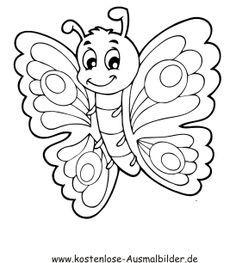 Ausmalbild Schmetterling 7 Ausmalbilder Ausmalbilder Schmetterling Ausmalbilder Zum Ausdrucken