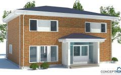 One Storey Rcc Building With Small House Architecture Design In India And Modern House Design With Gate Also Exterior Colors For Small Home
