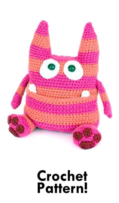Amigurumi Monsters Book Review | Crochet monsters, Crochet ... | 812x474