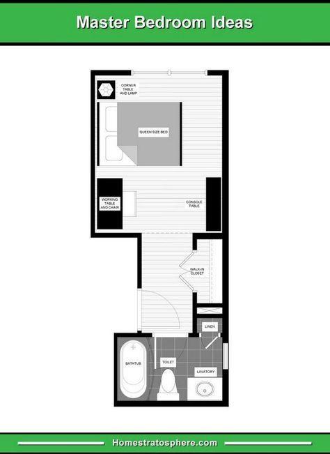 38 Trendy Bedroom Layout Furniture Floor Plans Master Bedroom Layout Bedroom Floor Plans Small Master Bedroom Layout