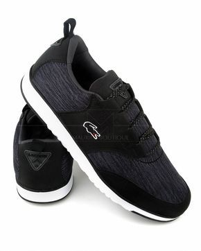 Zapatillas Lacoste Light Negra Gris Tenis Nike Masculino Estilo Masculino Sapatos