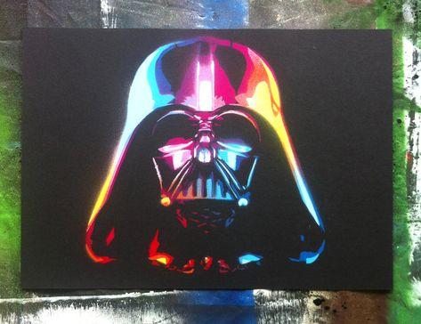 The Rainbow Sith Lord Darth Vader By Jarbiddeviantartcom