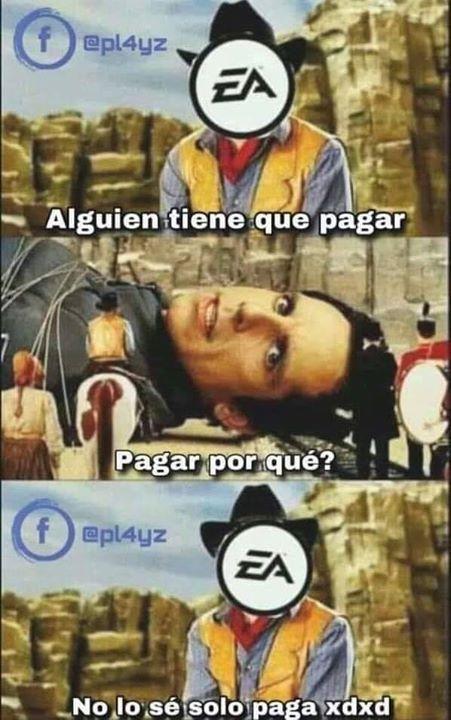 Meme Videojuego Por Pl4yz Solo Paga Xd Gamer Gamers Humor Memes Espanol 2019 Chistosos Sigue Nuestras Diferentes R Humor Comic Book Cover Book Cover