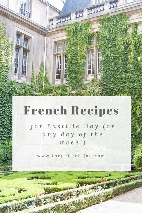 Bastille Day Recipes (Or Everyday French Recipes You Can Make!) – The Petite Bijou If you love French food, this Empanadas, French Dinner Parties, French Cooking Recipes, French Diet, Happy Bastille Day, Nutella, French Lifestyle, Love French, Spanish Food