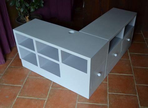 meuble de tv en angle en magasin pour Toulouse Idée déco studio