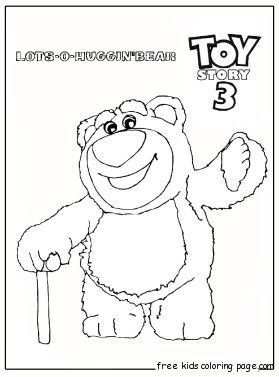 Slinky Dog Toy Story Coloring Page Free Printable Coloring Pages