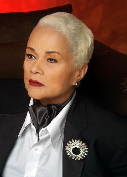 Etta James at photo shoot with talent manager Kathleen Checki