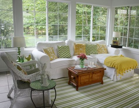 Furnishing A Sunroom   Published On September 30, 2014 At 3:33am By Andrea  J. Pless Under ...   Home Decor   Pinterest   Sunroom, September And Sunroom  ...
