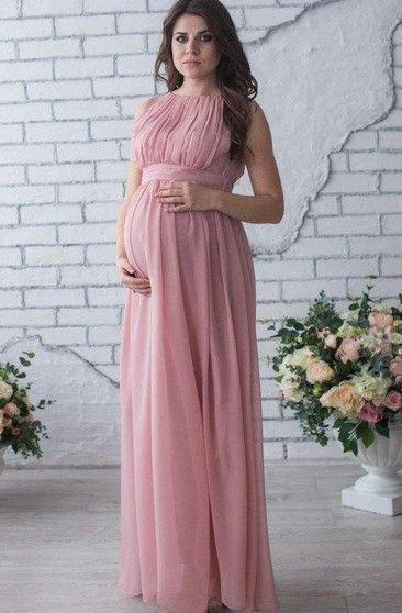 Fashion Women Ladies Sleeveless Pregnant Maternity Party Dress Flower Maternity