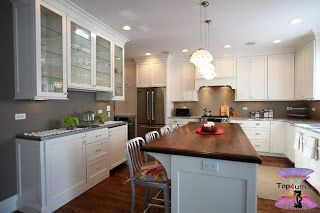 أحدث ديكورات مطابخ مودرن امريكانى Modern Kitchen Cupboards 2021 Top4 Modern Kitchen Cupboards Modern Kitchen Kitchen Cupboards