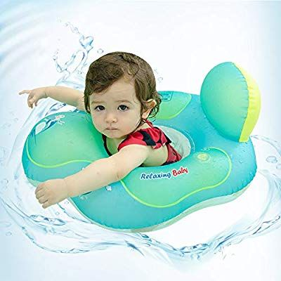 Relaxing Baby Swimming Baby Ring Floats For Pool Cute Toddler Floaties Seat Inflatable Swimming Boat Ring Accessories Toddler Floaties Baby Float Baby Swimming