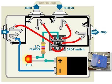 Electrical Wiring Ts0134diagram2 Distortion Plus Wiring Diagram Off Board 98 D Distortion Plus Wiring Diagram Off Diy Guitar Pedal Diy Guitar Amp Guitar Diy
