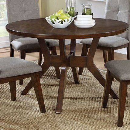 Reynolds Dining Table Dining Table Round Dining Table Kitchen Table Settings
