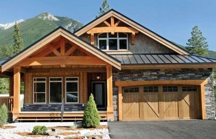 23 Ideas For Home Exterior Mountain Floor Plans Craftsman House Plans Cedar Homes Home Styles Exterior