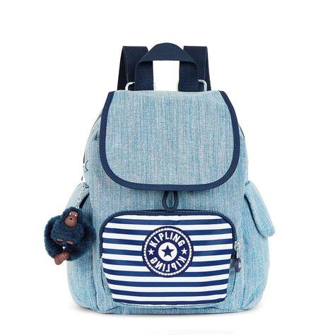 8f9e1d27ab5 City Pack Extra Small Backpack - Indigo Blue Stripe
