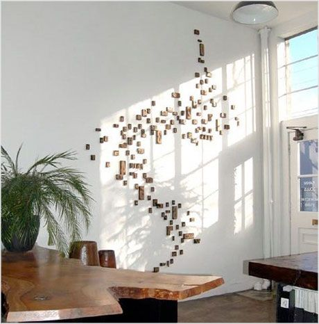 Some day...letterpress wood blocks wall art!