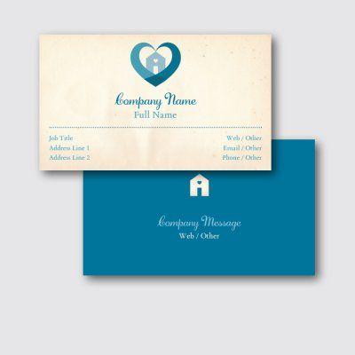 Health Social Services Standard Business Cards Templates Designs Vistaprint Business Card Template Design Business Card Template Vistaprint
