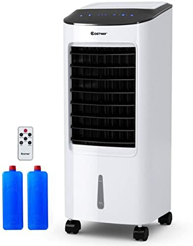 Enjoy Exclusive For Costway Evaporative Cooler Portable Air Cooler Led Display Remote Control 7 5 Hour Timing Function Home Office Cooling Humidifica In 2020 Air Cooler Portable Air Cooler Air Cooler Fan
