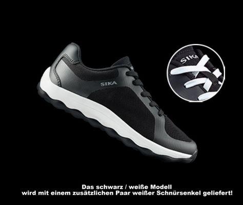 Sneaker SIKA BUBBLE MOVE schwarzweiß. Stilvoller, leichter