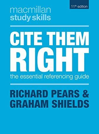 Download Cite Them Right The Essential Referencing Guide Macmillan Study Skills Study Skills What To Read Free Reading