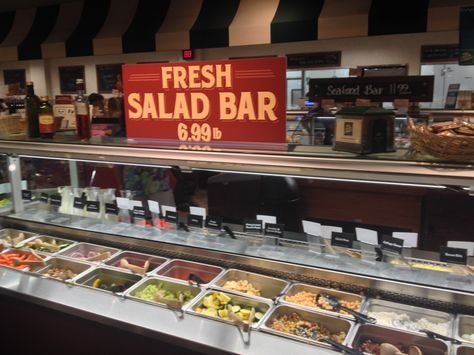 Fresh salad bar by the pound! Diced, sliced and ready to eat! The