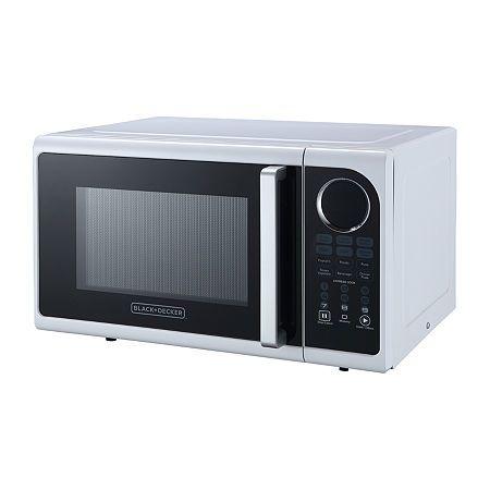 Black Decker Em925acp 0 9 Cu Ft Digital Microwave Pull Handle