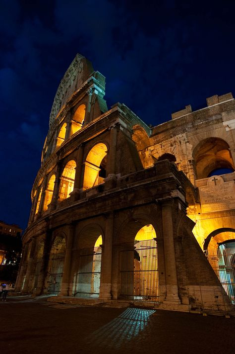 The Coliseum by night. Rome, Italy