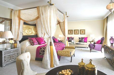 schlafzimmer einrichten im orientalischen stil | my style pinboard, Schlafzimmer ideen