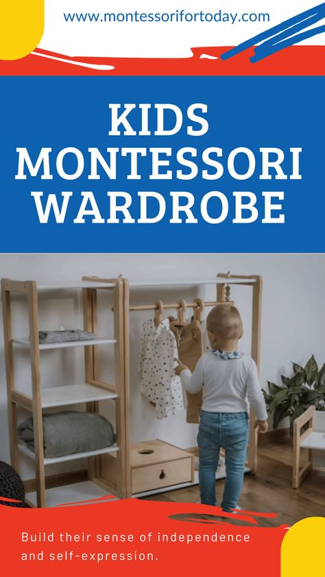 Kids montessori wardrobe: What it is and How to Build One