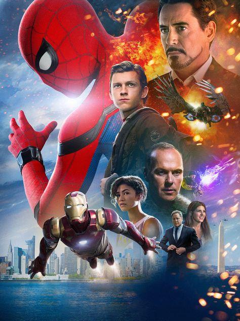 HD wallpaper: Spider-Man Homecoming (Movie), Peter Parker, movies, Iron Man