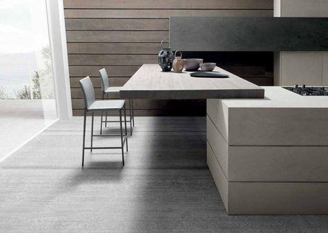 Sgabelli Cucina Moderni : Idea per arredare una cucina con penisola adibita a tavolo con due