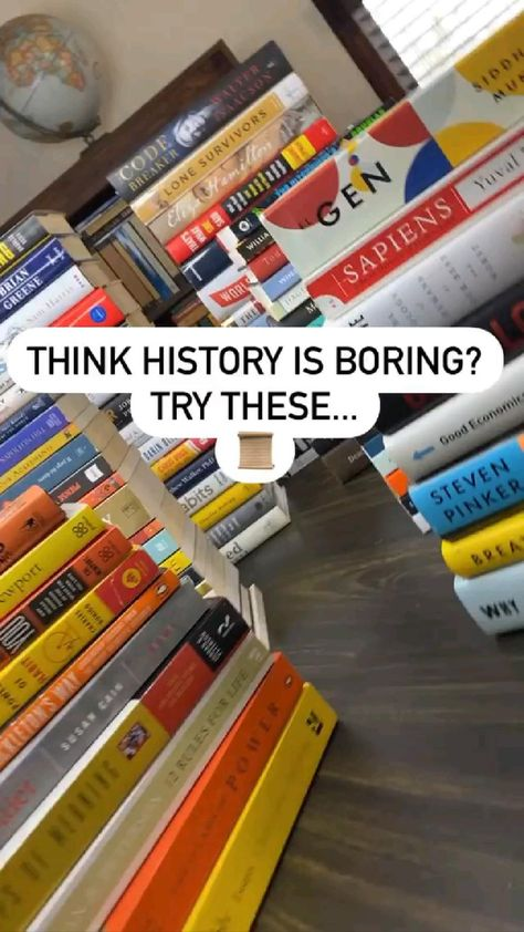 10 Must Read History Books 📚✨
