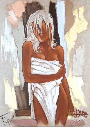 La Serviette Art Print by Pierre Farel at Art.com