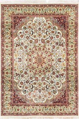 Indian Hand Knotted Carpet Floral Wool Rug 270 X 370 Cm Designer Large Area Rug Rugs On Carpet Rugs Wool Carpet
