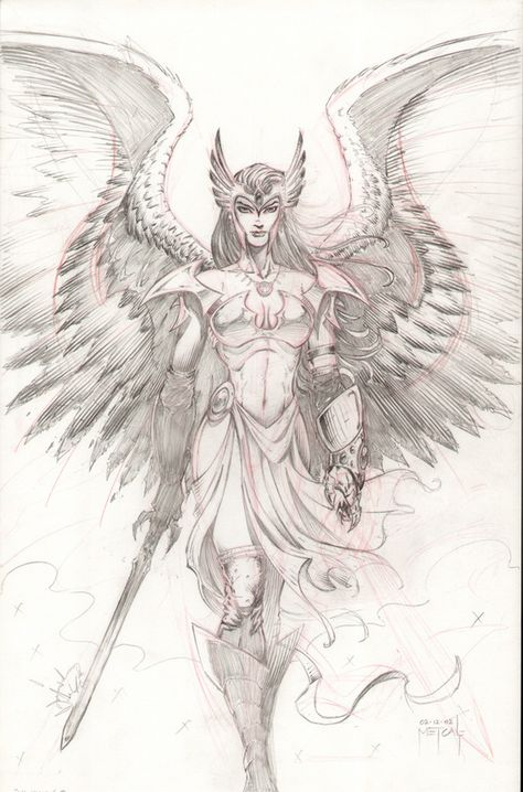 deviantart+worrior+angel+images | Hawkgirl - Angel by ~JMan-3H on deviantART