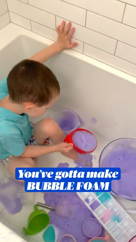 How To Make Bubble Foam