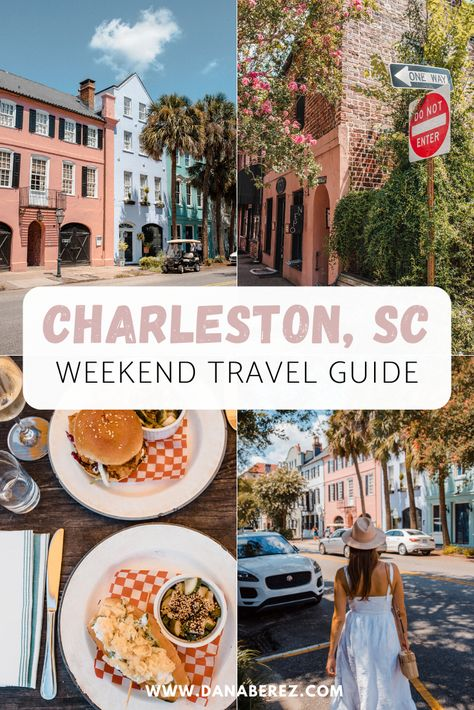 Covering the Top things to do in this Charleston Weekend Travel Guide, including where to stay, best restaurants & can't miss activities in South Carolina. South Carolina Vacation, Charleston South Carolina, Carolina Beach, South Carolina Things To Do In, Bar Restaurant Design, Restaurant Restaurant, Restaurant Poster, Luxury Restaurant, Weekend Trips