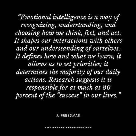 35 Powerful Quotes on the Importance of Emotional Intelligence! - Beyond The Shop Door