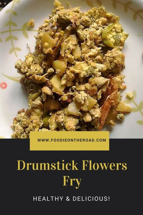 Assamese Cuisine Drumstick Flower Fry With Egg Vegetarian Dishes Cooking Recipes E Recipe
