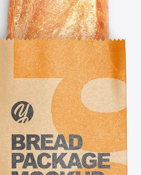 Download Bread Packaging Mockup Free Download Bread Packaging Kraft Packaging Packaging Mockup