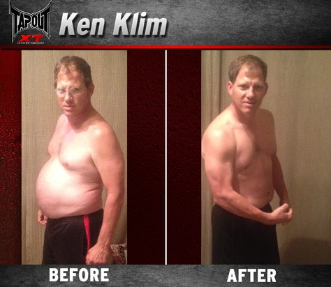 Check out these sick result Ken got with TapouT XT!!! Beach body EARNED!